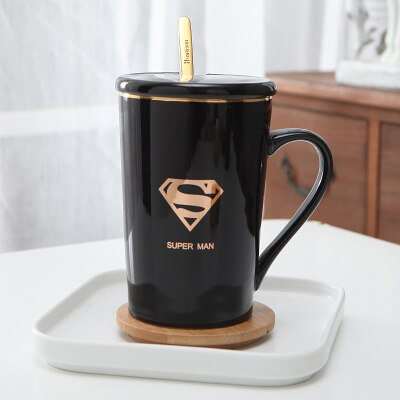 OUSSIRRO New Creative Super Hero Venom Coffee Mugs And Drink Cup High Temperature Manufacture Quality Ceramics Nice Quality