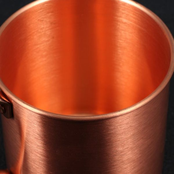 1pcs Copper Mug Creative Coppery Handcrafted Durable Moscow Mule Mugs Coffee Mug for Bar Drinkwares Party Kitchen