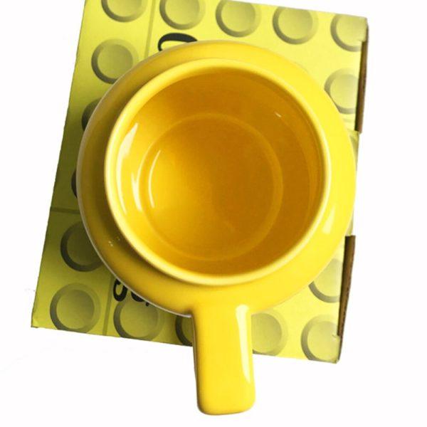 250mL Ceramic Cup Smiling Expression Face Cartoon Coffee Milk Tea Mugs Cute Drinkware Water Holder For Friend Kids