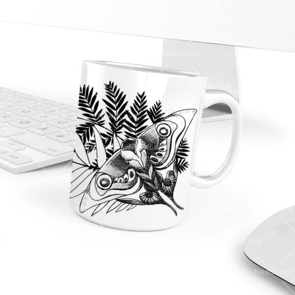 The Last of Us Part II Game Firefly Logo White Coffee Mug