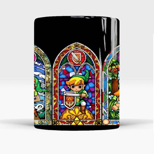 Zelda Coffee Mug For Game Boy Color Changing Mug 350ml Magic Ceramic Heat Reveal Novelty Gift for Friends