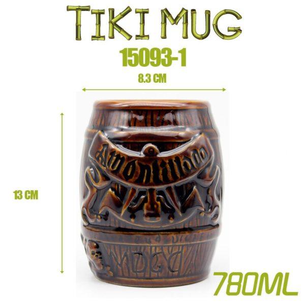 Tiki bar tiki MUG tiki keller Hawaii cocktail glass Martini ceramic mugs