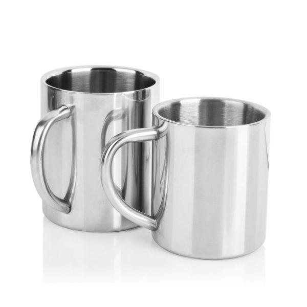Double Wall Stainless Steel Coffee Mug 300ml Portable Termo Cup Travel Tumbler Coffee Jug Milk Tea Cups Double Office Water Mugs