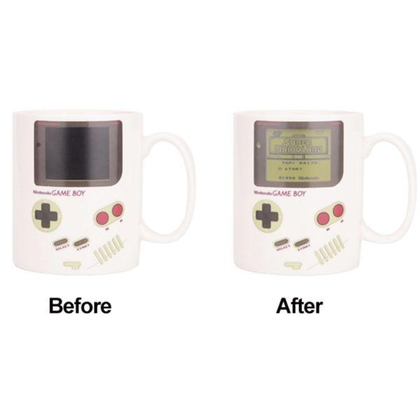 CSS Game Coffee Mug Creative Coffee Cup Color Changing Mug Funny Ceramic Cup for Coffee Coffee Travel Cups and Mugs