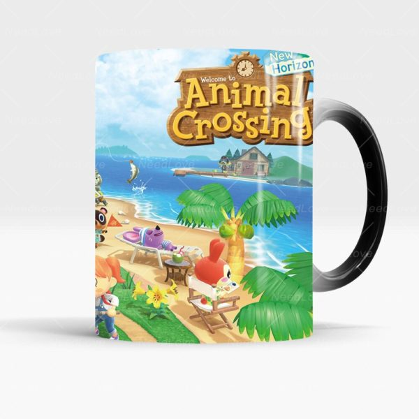 Nintendo Switch Game Animal Crossing New Horizons Magic Color-Changing Mug