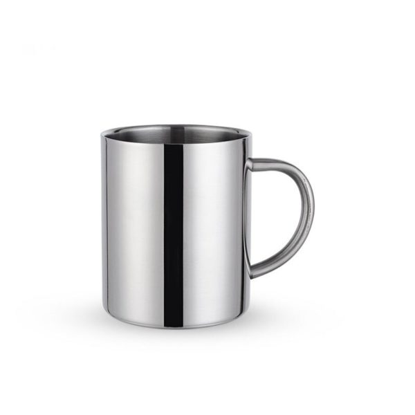 400ml gold Silver Coffee Milk Drink Coke Travel Handle Portable Stainless Steel Mug Insulated Office Tea Cup Adult Water Cup