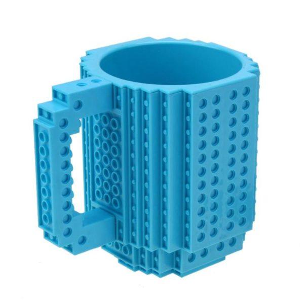 350ml Coffee Cup Creative Build-on Brick Mug for LEGO Building Blocks Design